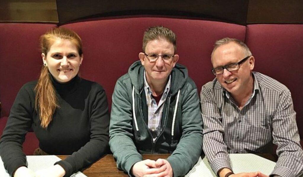 Der Vorstand des NABU Warstein. Linda Müller, Martin Dicke, Paul Köhler (v.l.)