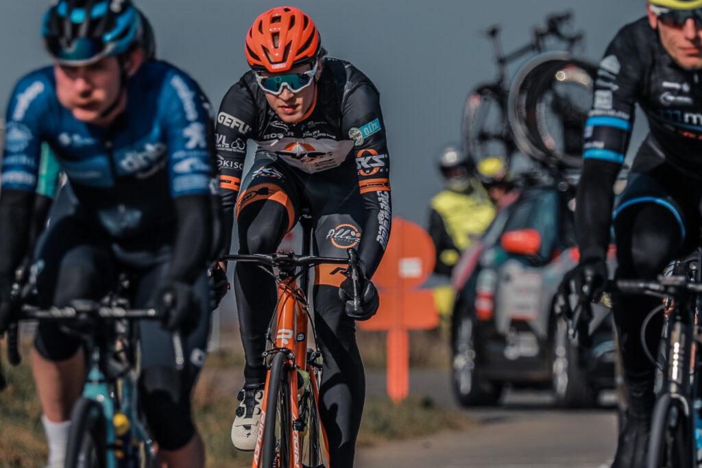 Jon Knolle von SKS SAUERLAND NRW Radsportteam über den erfolgreichen Saisonstart in Belgien Foto: Claudia Hauf