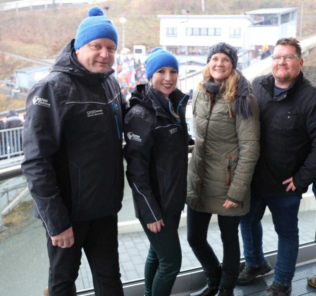 Grundstein der Zusammenarbeit wurde bereits im Winter 2019 gelegt (v.l.n.r.): Stephan Pieper, Geschäftsführung SZW, Sandra Schmitt, SZW, Borowicz, BBZ, Dirk Berkemeyer