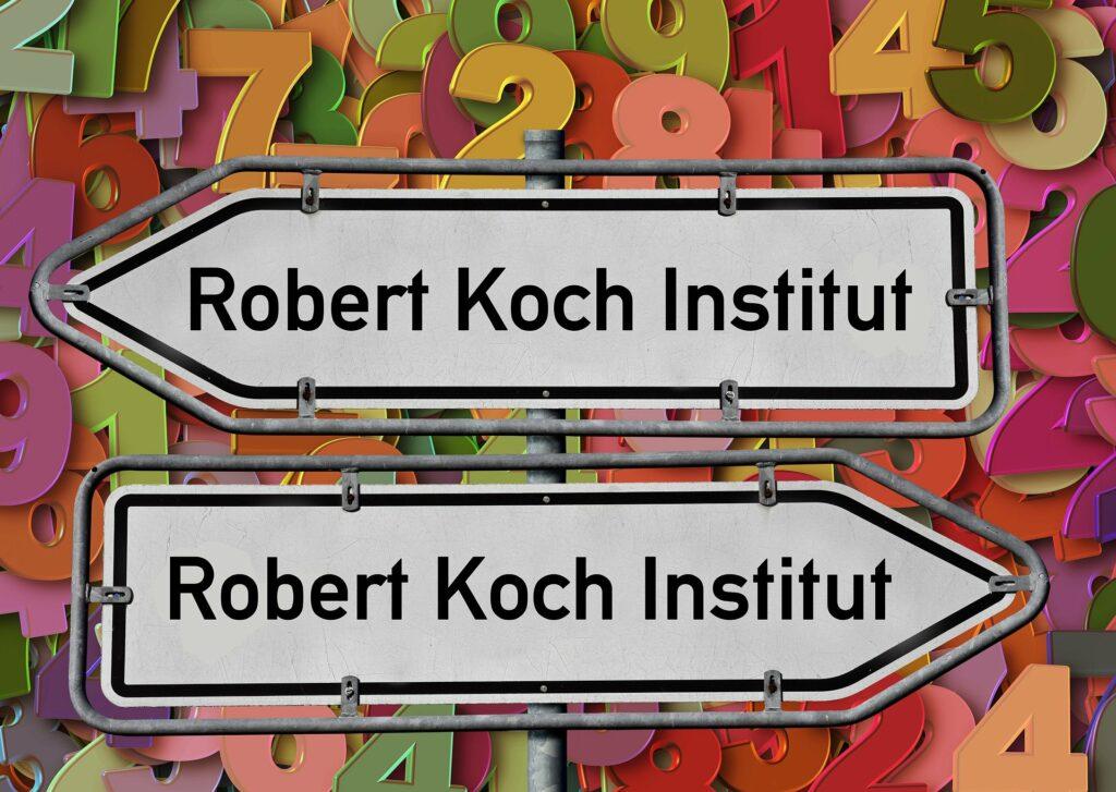 Täglich neue Inzidenzzahlen vom Robert Koch Institut