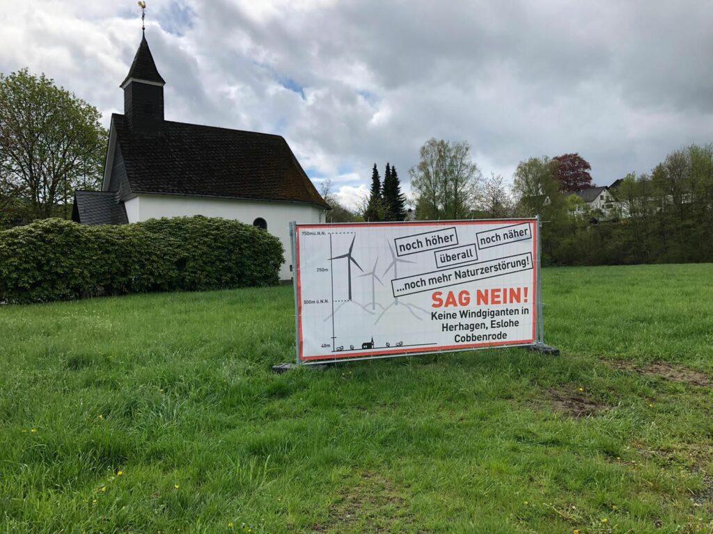 Keine Windgiganten in Herhagen, Eslohe und Cobbenrode.