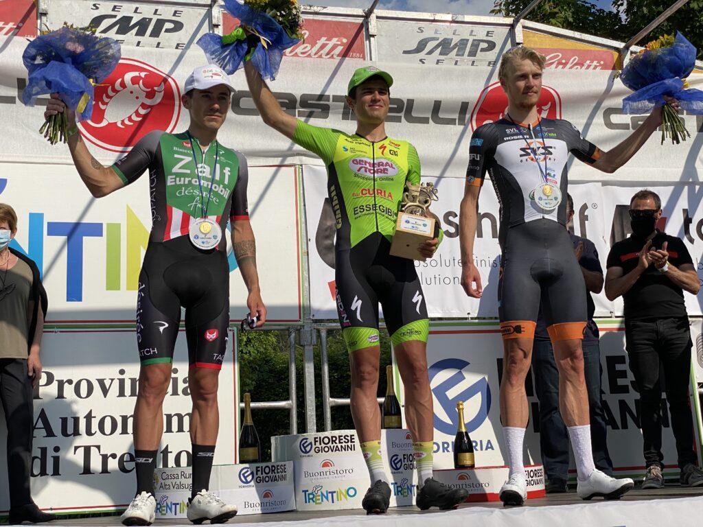Sensationeller 3. Platz für Jon Knolle beim Trofeo Alcide Foto: Markus Mooser.