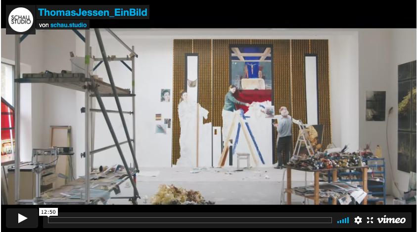 Altarbild für St. Clemens Drolshagen Film von Roman Schauerte