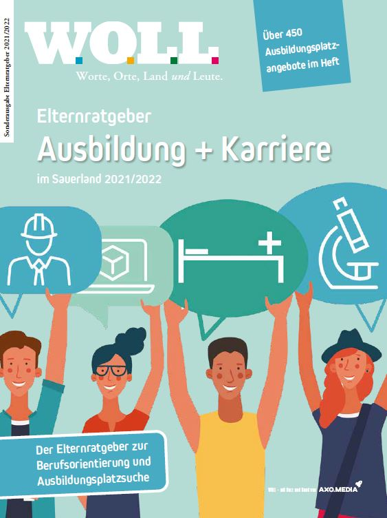 Cover des WOLL-Magazins