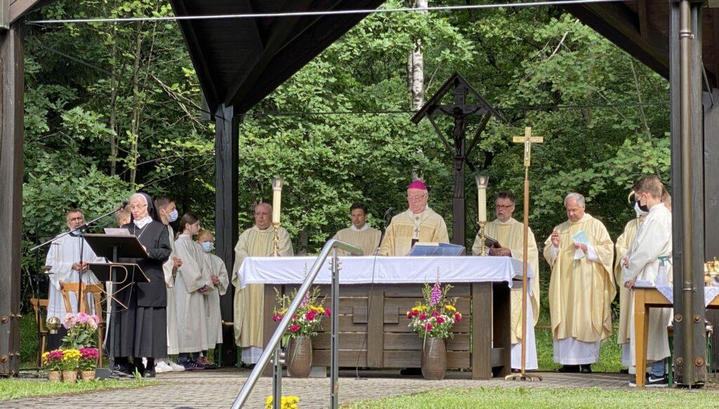 Einweihung Geistliches Zentrum Kohlhagen 4.7.2021