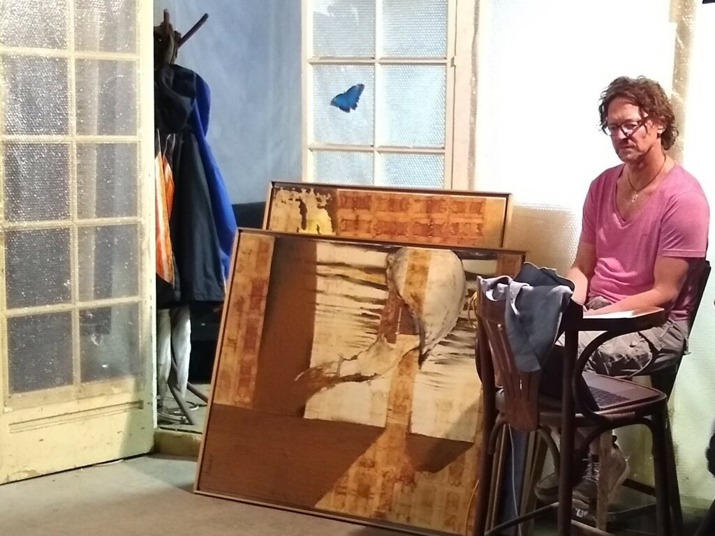 A.Hetfeld im Atelier