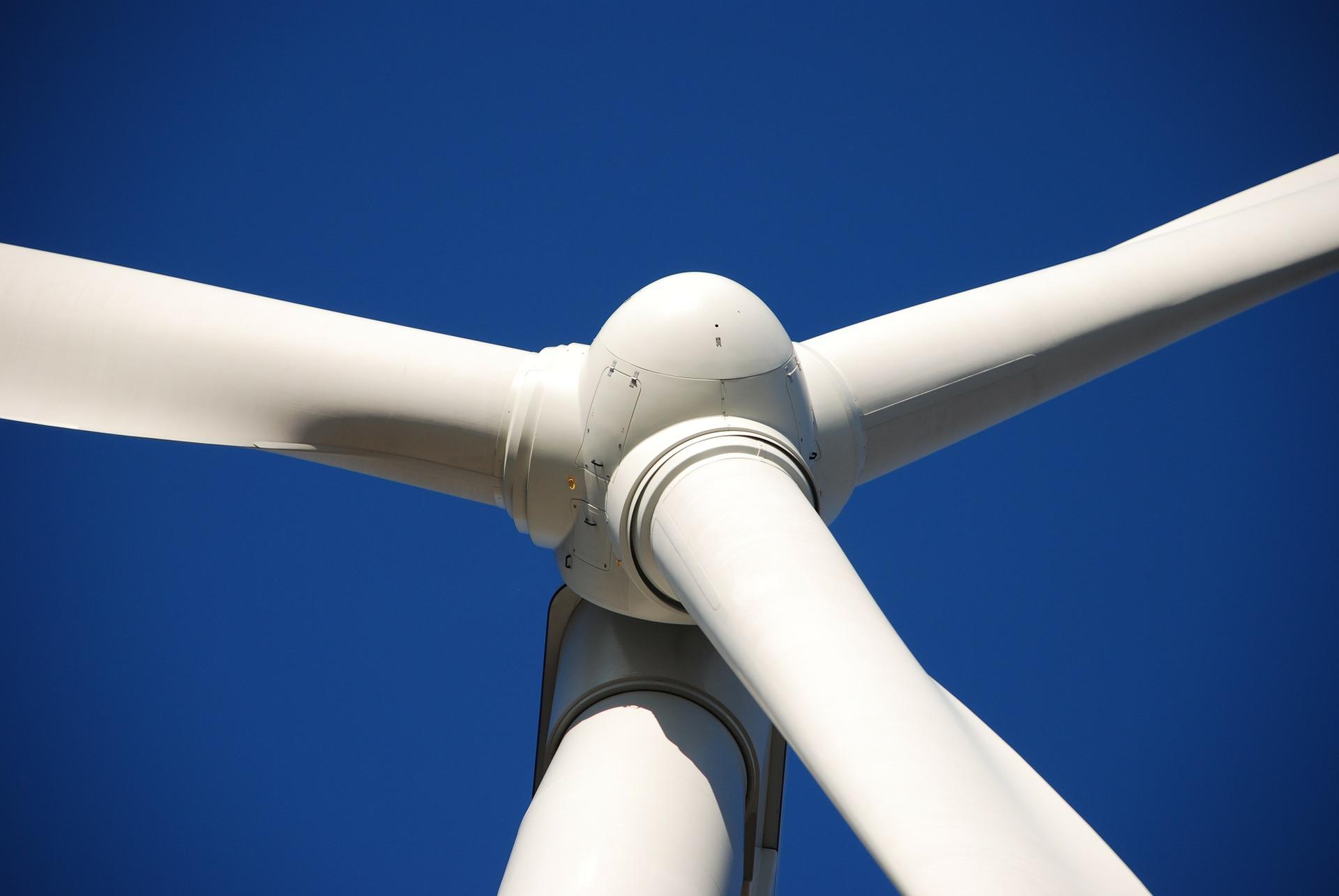 Windindustrieanlage