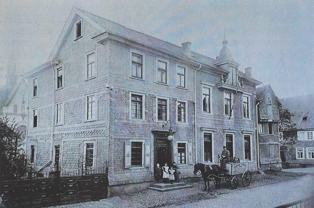 Hotel Tillmann um 1900